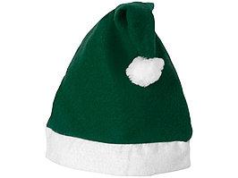 Новогодняя шапка, зеленый/белый (артикул 11224404)
