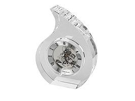 Часы настольные Шельф Ottaviani, прозрачный/серебристый (артикул 11393)