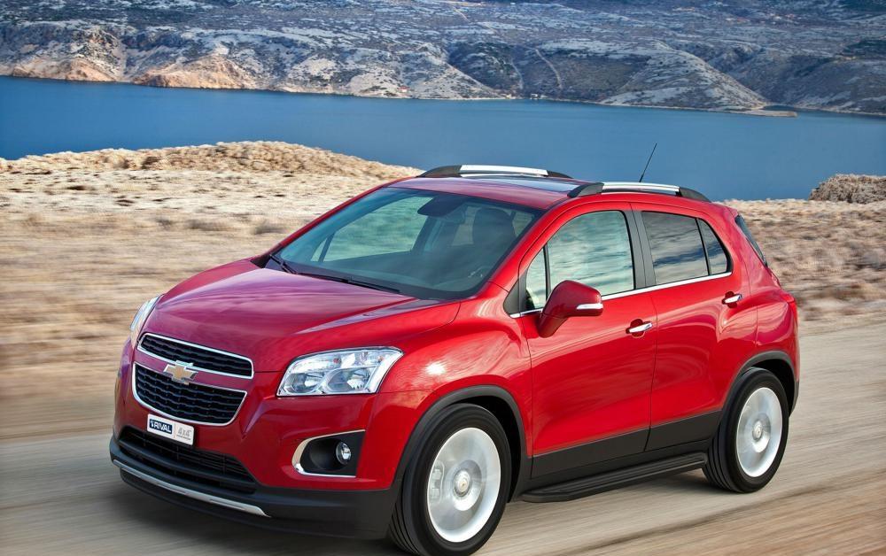 "Пороги ""Premium-Black"" Chevrolet Tracker (2013-), Opel Mokka (2010-2015)"