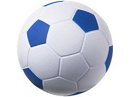 Антистресс Football, белый/ярко-синий (артикул 10209903)