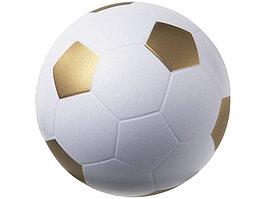 Антистресс Football, белый/золотистый (артикул 10209905)