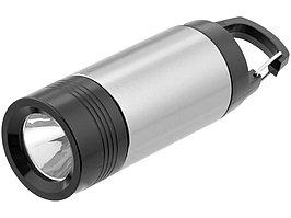 Фонарик Mini Lantern, серебристый/черный (артикул 10429901)