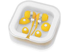 Наушники суперлегкие Sargas, желтый (артикул 10812806)