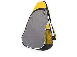 Рюкзак Спортивный, желтый/серый (артикул 935984)