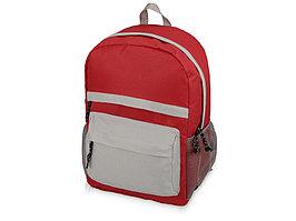 Рюкзак Универсальный (серая спинка), красный/серый (артикул 930141)