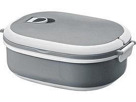 Ланч-бокс Spiga 750 мл для микроволновой печи, серый/белый (артикул 11255002)