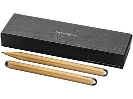 Набор пишущих инструментов Radar: ручка шариковая и стилус, медный (артикул 10643203)