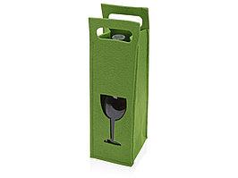 Декоративный чехол для бутылки, зеленый (артикул 949633)
