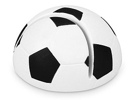 Подставка для визиток Футбол, белый/черный (артикул 759418)