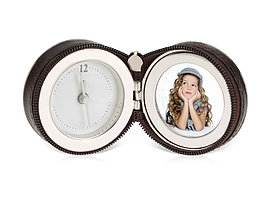 Часы Большое путешествие, коричневый/серебристый (артикул 138308)