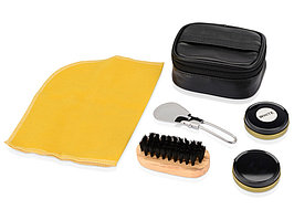 Набор для чистки обуви Шик, черный (артикул 884207)