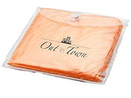 Дождевик с капюшоном, в чехле, оранжевый (артикул 19538770)