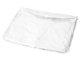 Дождевик с регулируемыми рукавами, белый (артикул 10300900)