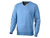 Пуловер Spruce мужской с V-образным вырезом, светло-синий (артикул 3821740M), фото 1