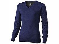 Пуловер Spruce женский с V-образным вырезом, темно-синий (артикул 3821849M), фото 1