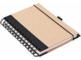 Блокнот А6 Evolution, коричневый (артикул 10611200)