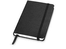 Блокнот классический карманный Juan А6, черный (артикул 10618000)