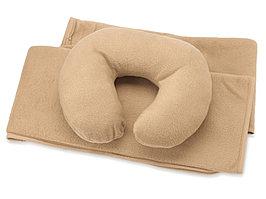 Набор для путешествий с комфортом: плед и подушка под голову, в чехле (артикул 835328)