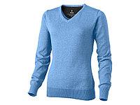 Пуловер Spruce женский с V-образным вырезом, светло-синий (артикул 3821840M), фото 1