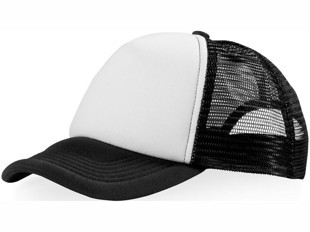 Бейсболка Trucker, черный/белый (артикул 11106900)