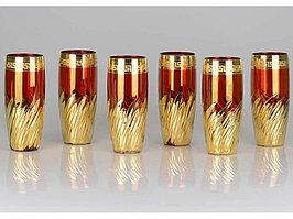 Набор коктейльных стаканов Салют победы (артикул 685016)