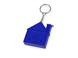 Брелок-рулетка Домик, 1 м., синий (артикул 715992)