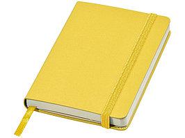 Блокнот классический карманный Juan А6, желтый (артикул 10618011)