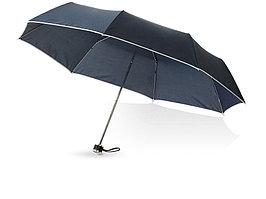 Зонт складной Линц, механический 21, темно-синий (артикул 10904302)