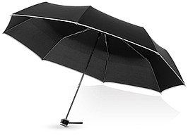 Зонт складной Линц, механический 21, черный (артикул 10900800)