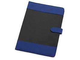 Папка для документов Барлетто, синий/черный (артикул 923972)
