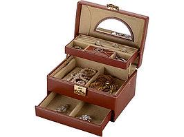 Шкатулка для драгоценностей Champ, коричневый (артикул 581208)