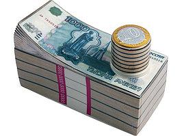 Штоф для водки Российские рубли (артикул 82730)