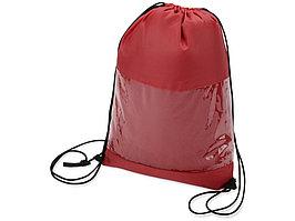 Плед в рюкзаке Кемпинг, красный (артикул 836311)