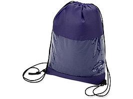 Плед в рюкзаке Кемпинг, синий (артикул 836312)