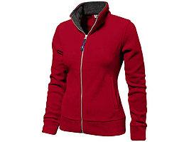 Куртка флисовая Nashville женская, красный/пепельно-серый (артикул 3148225M)
