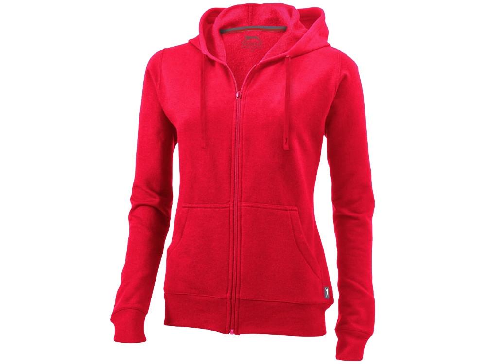 Толстовка Open женская с капюшоном, красный (артикул 33241252XL)