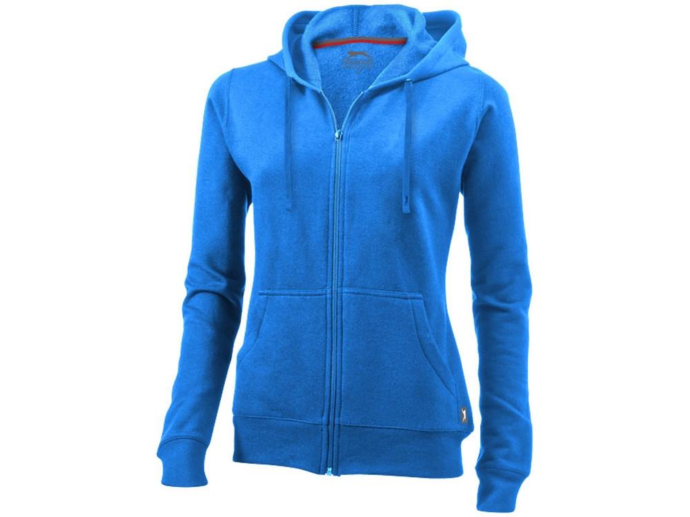 Толстовка Open женская с капюшоном, небесно-голубой (артикул 3324142L)