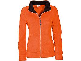 Куртка флисовая Nashville женская, оранжевый/черный (артикул 3148233L)