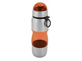 Бутылка спортивная Движение 650мл, оранжевый (артикул 828478)