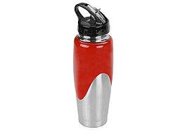 Бутылка спортивная Олимпик 800мл, красный (артикул 821561)