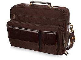 Сумка для ноутбука Сиэтл, коричневый (артикул 959318)