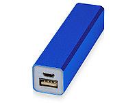 Портативное зарядное устройство Брадуэлл, 2200 mAh, синий (артикул 392432), фото 1