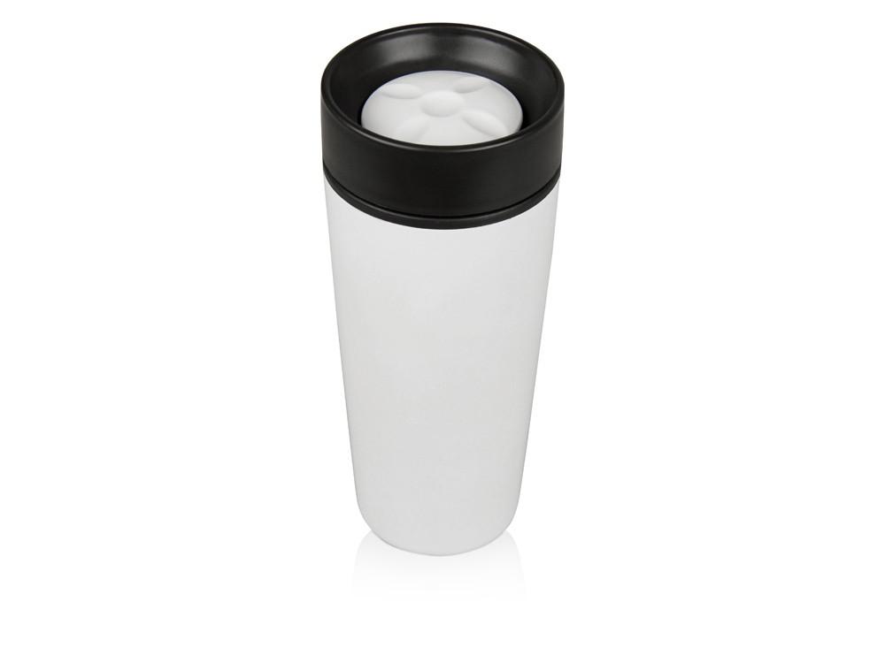 Кружка с термоизоляцией на 450 мл, белый (артикул 828006)