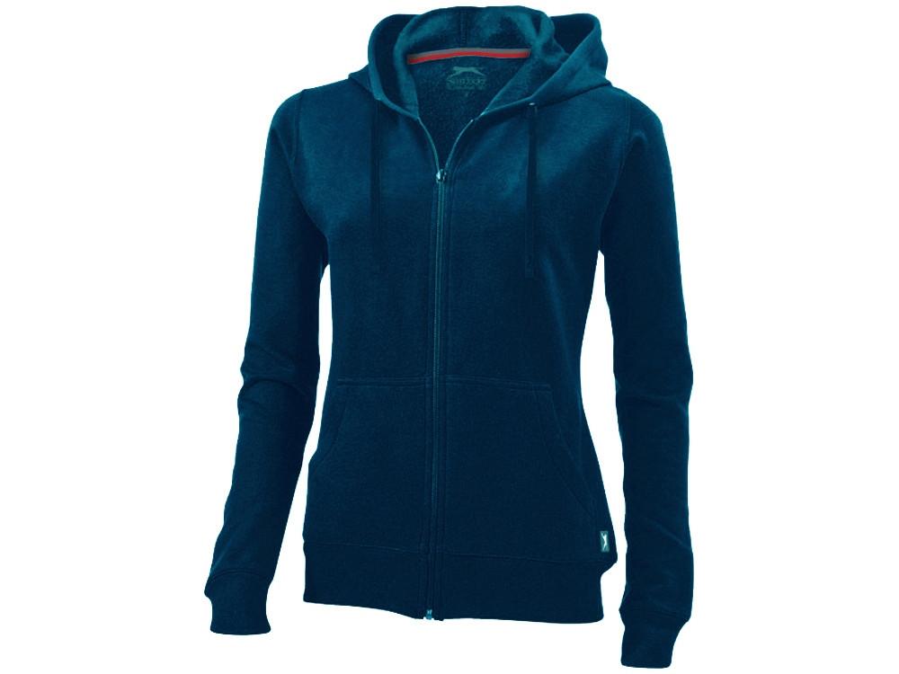 Толстовка Open женская с капюшоном, темно-синий (артикул 3324149XL)