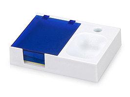 Подставка под ручку и скрепки Потакет, белый/синий (артикул 599402)