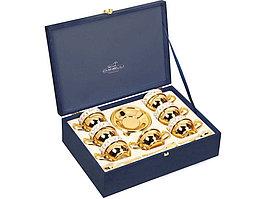 Чайный набор Chinelli, золотистый/белый (артикул 82678)