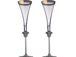 Набор бокалов для шампанского  Versace Medusa (артикул 82556)