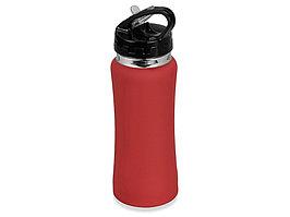 Бутылка спортивная Коста-Рика 600мл, красный (артикул 828021)