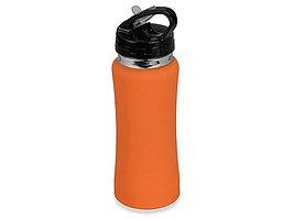 Бутылка спортивная Коста-Рика 600мл, оранжевый (артикул 828028)
