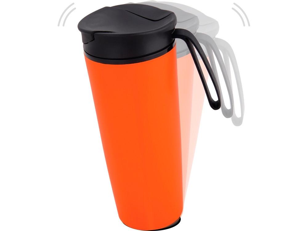 Термокружка Годс 470мл на присоске, оранжевый (артикул 821108)